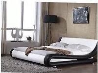Italian Enzo double bed