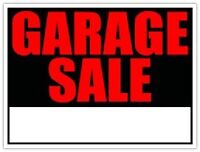 Garage Sale Today Only!