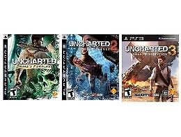 Looking for Uncharted 1,2,3 bundle and Skyrim V