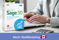 Sage 50 Accounting Online Courses with Basic Bookkeeping