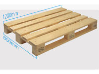 2 X GOOD CONDITION AND GOOD QUALITY PALLETS