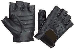 3fef527d9 Women's Fingerless Leather Gloves