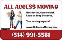 MOVERS IN MONTREAL LOCAL AND LONG DISTANCE