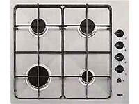 ZANUSSI 4 BURNERS 60CM STAINLEES STEEL GAS HOB