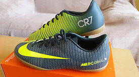 NIKE jr mercurialx victory CR7 football shoes size UK 4.5