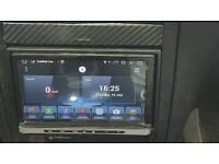 2 double din Head unit stereo