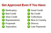 HAVE BAD CREDIT OR NO CREDIT? WE WILL GET YOU APPROVED!!! 100%