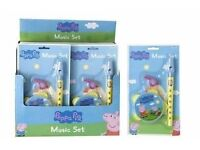 New in packaging peppa pig musical instrument set