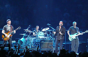U2 Joshua Tree Tour @ Rogers Centre BEST seats Hard Copy Tickets