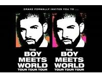 "Drake ""The Boy Meets the World"" Birmingham Feb 22 2017 STANDING!"