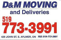 MOVERS WITH OVER 30 YEARS EXPERIENCE, REASONABLE RATES