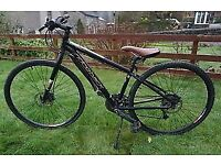Ex hire Ridgeback Quest Dual Track mountain hybrid bikes. Adult/Teen size XS. Only 2 left!