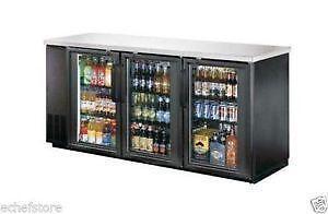 Under Counter Refrigerator Glass Door