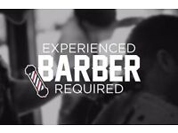 Part time Barber required.