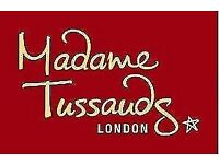 Madam Tussauds Tickets X4 for March 6th 2018
