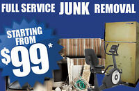 STAR JUNK REMOVAL STARTING $99 CALL SAM 416 458-2866