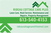RIDEAU COTTAGE CARE/Housekeeping  Seeley's Bay,Lyndhurst etc.