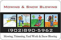 Lawn mowing Truro/Salmon River/North River/Bible Hill/Onslow