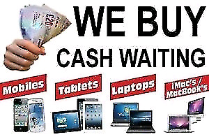 We are Buying used or broken phone iPad