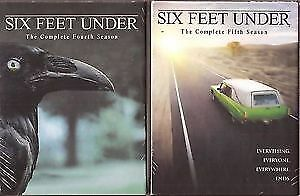 Six Feet Under-Seasons 4 and 5-Excellent condition