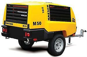Demo Kaeser M50 Portable Diesel Air Compressor 185cfm