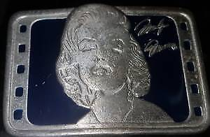 Marilyn Monroe Belt Buckle Limited Edition Collectible $75