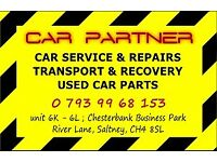 PROBLEM WITH CAR ? we can help ! VEHICLE SERVICE, REPAIRS, TRANSPORT and RECOVERY *****CHESTER******