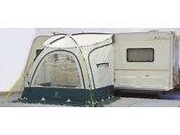 Caravan Porch Awning - Outdoor Revolution Porchlite XL 275cm x 205cm - hardly used