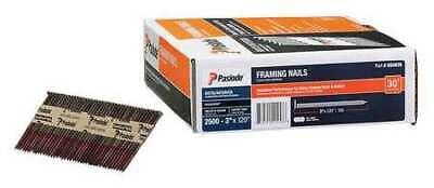 Paslode 650836 Framing Nail 3 In Pk2500 Gauge 11 Ga