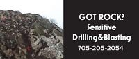 Got Rock?Sensitive Drilling and Blasting