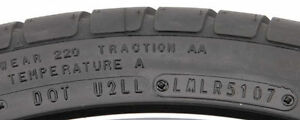 WATCH OUT WHEN BUYING TIRES - CHECK THE AGE!