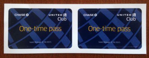 United Club Lounge Pass Travel Ebay