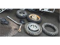 Mini moto pit bike MIDI moto Pitbike spares repairs like dt yz cr rs Kx ktm etc
