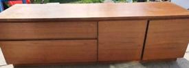 Vintage retro teak Mid Century G plan 60s 70s Wooden Sideboard TV Cabinet Storage