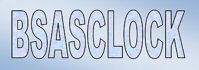BSASCLOCK