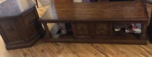 Coffee and end table $120 sold wood excellent condition