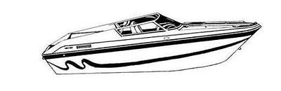 7oz BOAT COVER WELLCRAFT SCARAB 31 EXCEL/ THUNDER/ VIPER I/O 1990-96