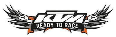 For KTM RC WINDSHIELD READY TO RACE BIKE MOTOBIKE KTM STICKER for sale  DELHI