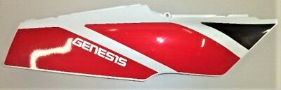 '92 FZR600 FZR 600 RIGHT REAR TAIL FAIRING PLASTIC COVER COWL RED WHITE YAMAHA