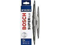 Bosch Super Plus SP22/16S Front Wiper Blade Set (Fits Fiesta etc)