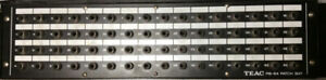TEAC PB-64 Patch Bay.