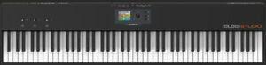 88 Key premium piano action Italian MIDI keyboard