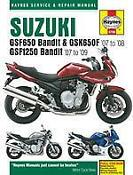 Suzuki Bandit Haynes Manual