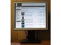 Computer monitor, professional NEC LCD model