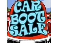 Car boot sale George park and ride derriford pl6 7hb