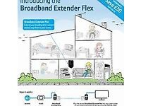 BT BROADBAND EXTENDER FLEX 500 KIT (Brand new)