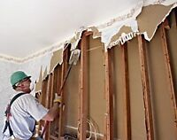 Drywall removal and general demolition