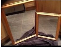 Pine framed mirrors