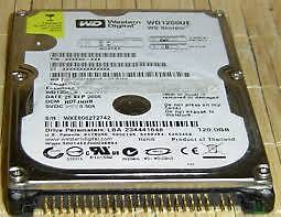 HARD TO FIND 120GB LAPTOP IDE HARD DRIVE - $25/OBO