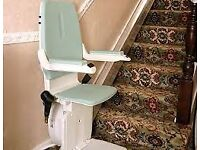 Curved Bison.stair lift can deliver